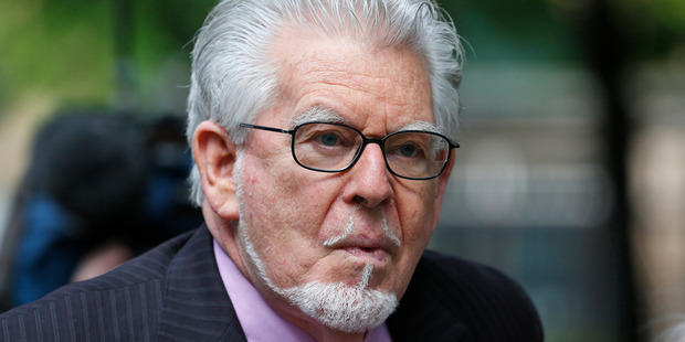 Rolf Harris, 84, outside the Southwark Crown Court in London. Photo / AP.