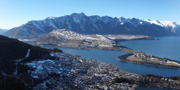 China is planning a replica of Queenstown in Xi'an Province. Photo / Doug Sherring