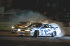 CHAMPION: Dargaville's Gary Whiter claimed an unprecedented fourth D1NZ National Drifting Championship, winning under lights at Mt Smart Stadium.PHOTO/FAST COMPANY-DAVID ATKINSON