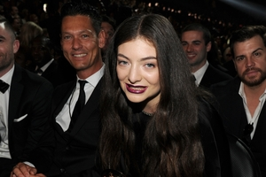 Maclachlan was at Lorde's side in Los Angeles on the night she won two Grammy  Awards. Photo / Wire Image