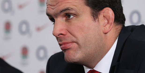 Martin Johnson skipped what should have been his first tour in charge. Photo / Getty