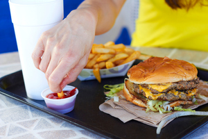 Women wanting to get pregnant are being warned to ease up on the junk food. Photo / Thinkstock