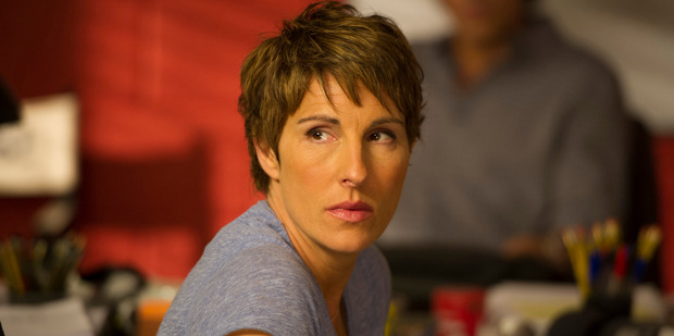 Tamsin Greig, one of the stars of comedy show Episodes.