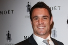 Dan Carter did not say if his wife Honor or young son Marco were with him on the flight.