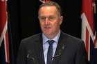 Prime Minister John Key talks about fighting methamphetamine and stamping out the drug.