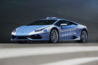 The Lamborghini Huracán LP 610-4 Polizia. Photo / Supplied