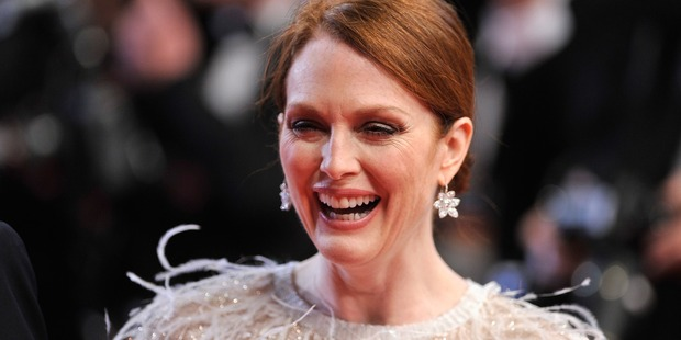 Julianne Moore attends the Maps to the Stars premiere during the 67th Annual Cannes Film Festival. Photo / Getty Images