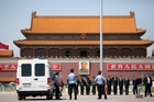 China is detaining dissidents in the lead-up to the anniversary of the Tiananmen Square massacre. Photo / AP