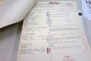 Declassified spy documents.