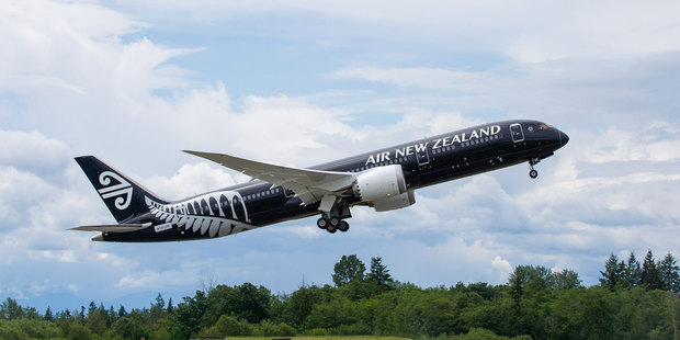 Air NZ's first Dreamliner has taken to the skies for the first time.