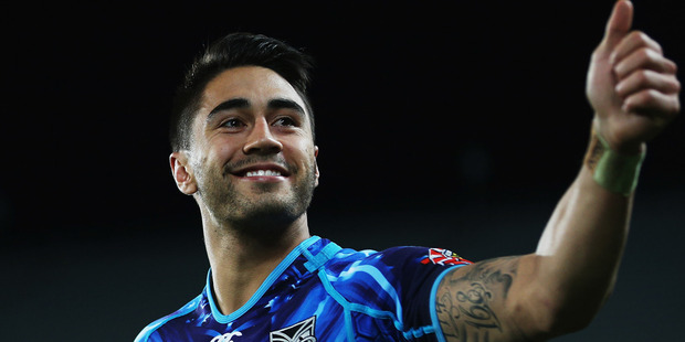 "Shaun Johnson will have until Friday to prove his fitness ahead of Sunday's ""homecoming"" clash against the Newcastle Knights. Photo / Getty Images."