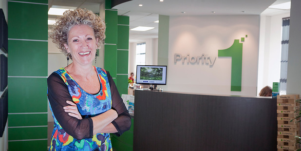 Priority One communications manager Annie Hill