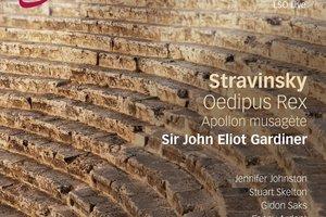 CD cover: Stravinsky.