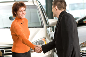 The feel-good factor should carry on from the showroom to the service reception.