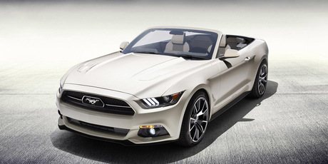 The special edition Ford Mustang.