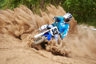 Yamaha was after a faster, better motocross bike when it made the XZ250F. Photo / Supplied