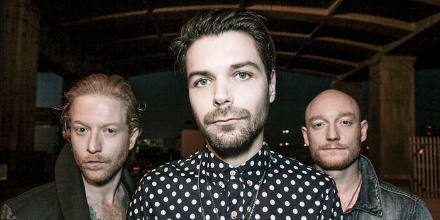 SCOT ROCK: Biffy Clyro are coming to New Zealand for the first time.