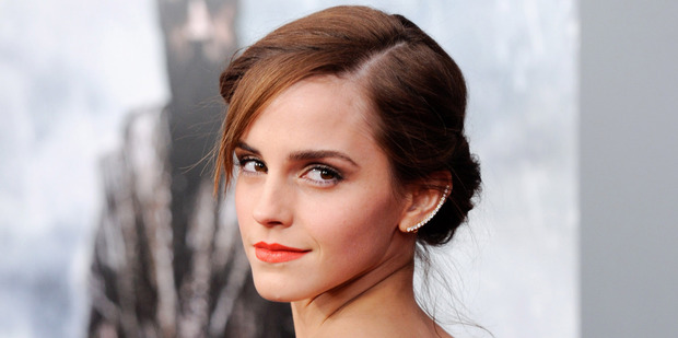 Harry Potter star Emma Watson. Photo / AP