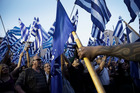 Supporters of the neo-Nazi Golden Dawn in Greece, which made a strong showing. Photo / AP