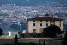 A view of the Forte Belvedere in Florence, Italy. Photo / AP