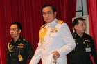 General Prayuth Chan-ocha, has warned that protests against the coup will not be tolerated. Photo / AP