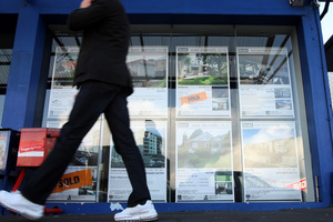 Low deposit lending nudged up in April. New Zealand Herald Photograph by Dean Purcell.