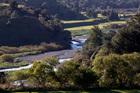 Ruataniwha Dam site. Photo / Glenn Taylor