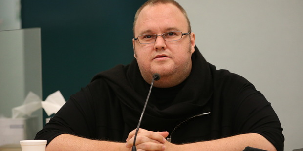 The music industry has joined up with the movie studios in a bid to freeze the assets of Kim Dotcom.  Photo / Greg Bowker