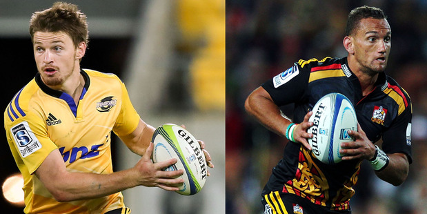 Beauden Barrett has been  on fire this season but Aaron Cruden is back in the game. Photo / Getty Images