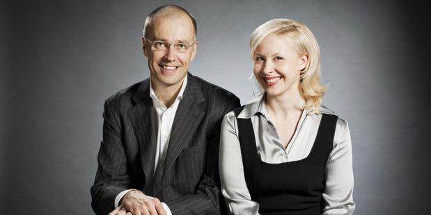Associate Professor Suvi Nenonen and Professor Kaj Storbacka.