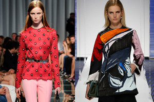 Louis Vuitton Cruise 2015, shown in Monaco, and Dior Cruise 2015, shown in Brooklyn. Pictures / Supplied