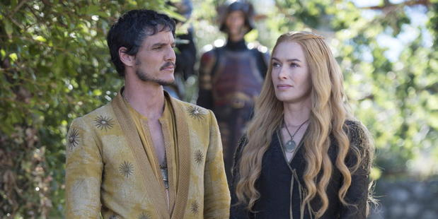 """Pedro Pascal, left, describes his character as """"very sexy""""."""