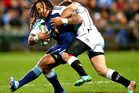 The Blues are struggling in the management zone with Ma'a Nonu being pulled into that area which doesn't suit him. Photo / Getty Images