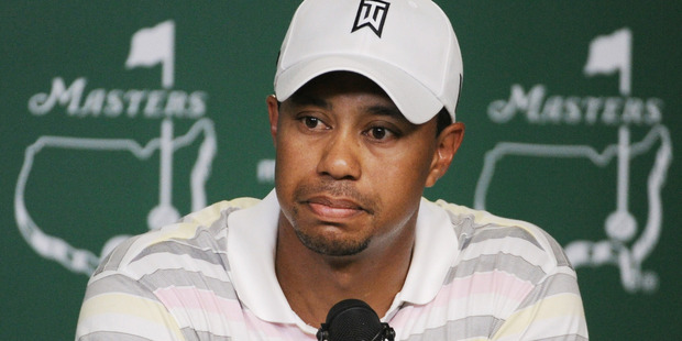 Can you spare some change Tiger? Photo / AP