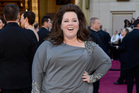 Actress Melissa McCarthy found it hard to find a designer to make an Oscars dress in her size. Photo / Getty Images