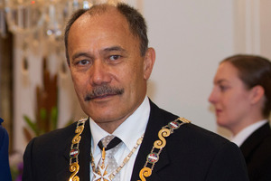 Governor-General, Sir Jerry Mateparae.