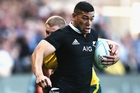 Charles Piutau's All Black appearances have been restricted through injury. Photo / Getty Images