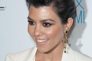 Kourtney Kardashian has confirmed her pregnancy. Photo/Getty