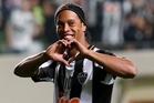 Brazilian soccer superstar Ronaldinho.