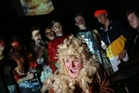 Fletcher Coutts plays Lion in A Midsummer Night's Dream with fellow cast members who scooped four awards in the national finals held in Wellington. Photo / Michael Cunningham