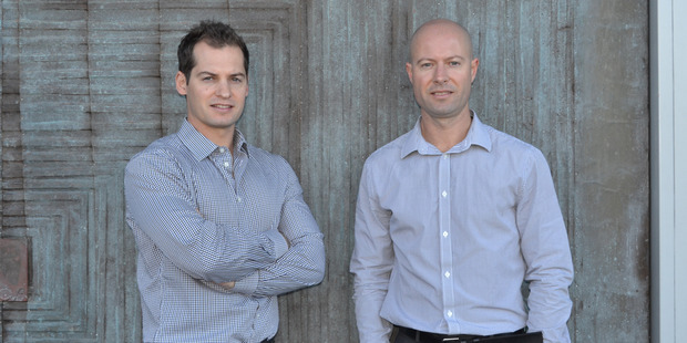 Finance manager Leon Petraska (left) and general manager Alex Petraska (right), of First Software.
