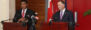 PM doesn't back down on Tongan travel warning