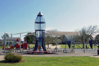 Rocket Park's rocket is all set to reopen tomorrow.