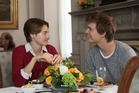 Shailene Woodley with Ansel Elgort in The Fault in Our Stars.