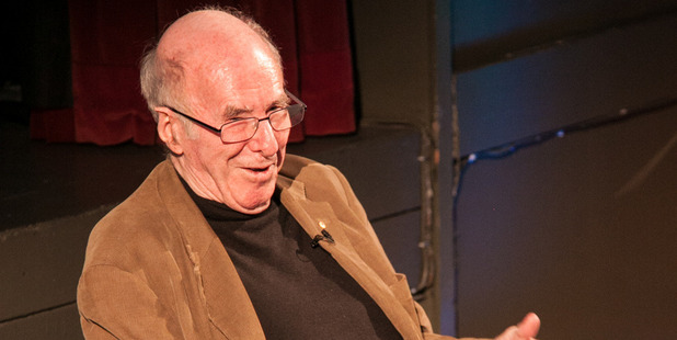 Australian writer Clive James at the Australian and NZ Literary Festival in London.