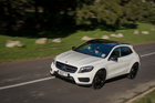 The GLA diesel has been on the market a month now, with the petrol version due next month. Pictures / Ted Baghurst