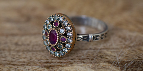 Vintage ring from a Turkish Bazaar. Photo / Sarah Ivey.
