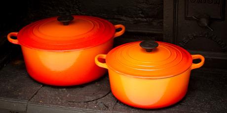 Le Creuset casserole dishes. Photo / Sarah Ivey.