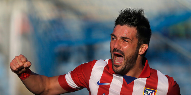 Spain's all-time leading goalscorer David Villa will play a guest stint in the A-League later this year with rebranded Melbourne City.  Photo / AP
