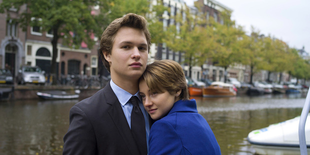 Shailene Woodley, above, with Fault in Our Stars co-star Ansel Elgort, is happy to use her fame to promote good causes.